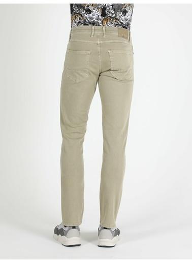 Colin's Straight Fit Düz Paça Yüksek Bel Haki Erkek Pantolon Haki